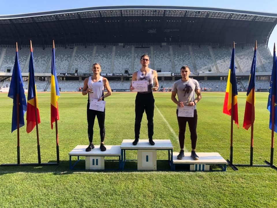 600m: Robert Parge (1), Cristian Tăut (2), Cristian Esanu (3)