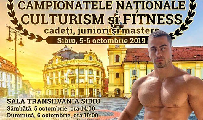12 culturiști universitari concurează la Sibiu