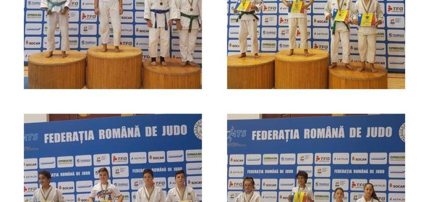 Șase medalii la C.N. Ne Waza U15 și U13