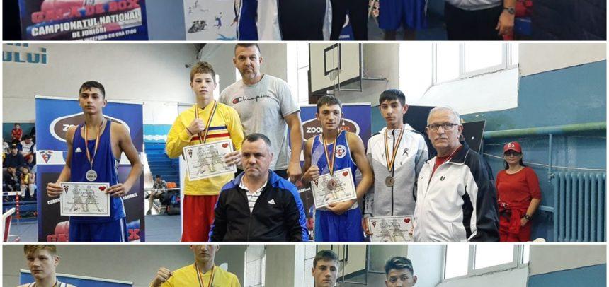 Trei medalii de bronz la finala de box de la Brăila