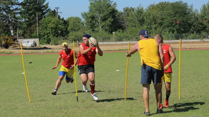 """Naționala de rugby U20 intră în stagiu de pregătire cu trei """"studenți"""""""