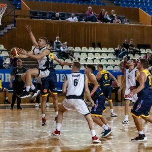 Victorie în ambele etape de la Ploiești pentru baschetbaliștii U20
