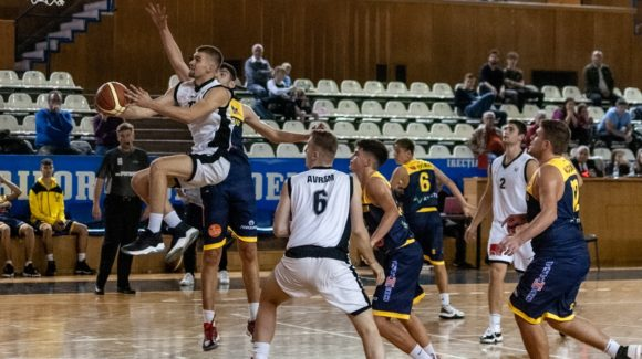 """BM: """"U"""" Cluj – BC CSU 2 Sibiu  82-78  3 noiembrie 2019"""