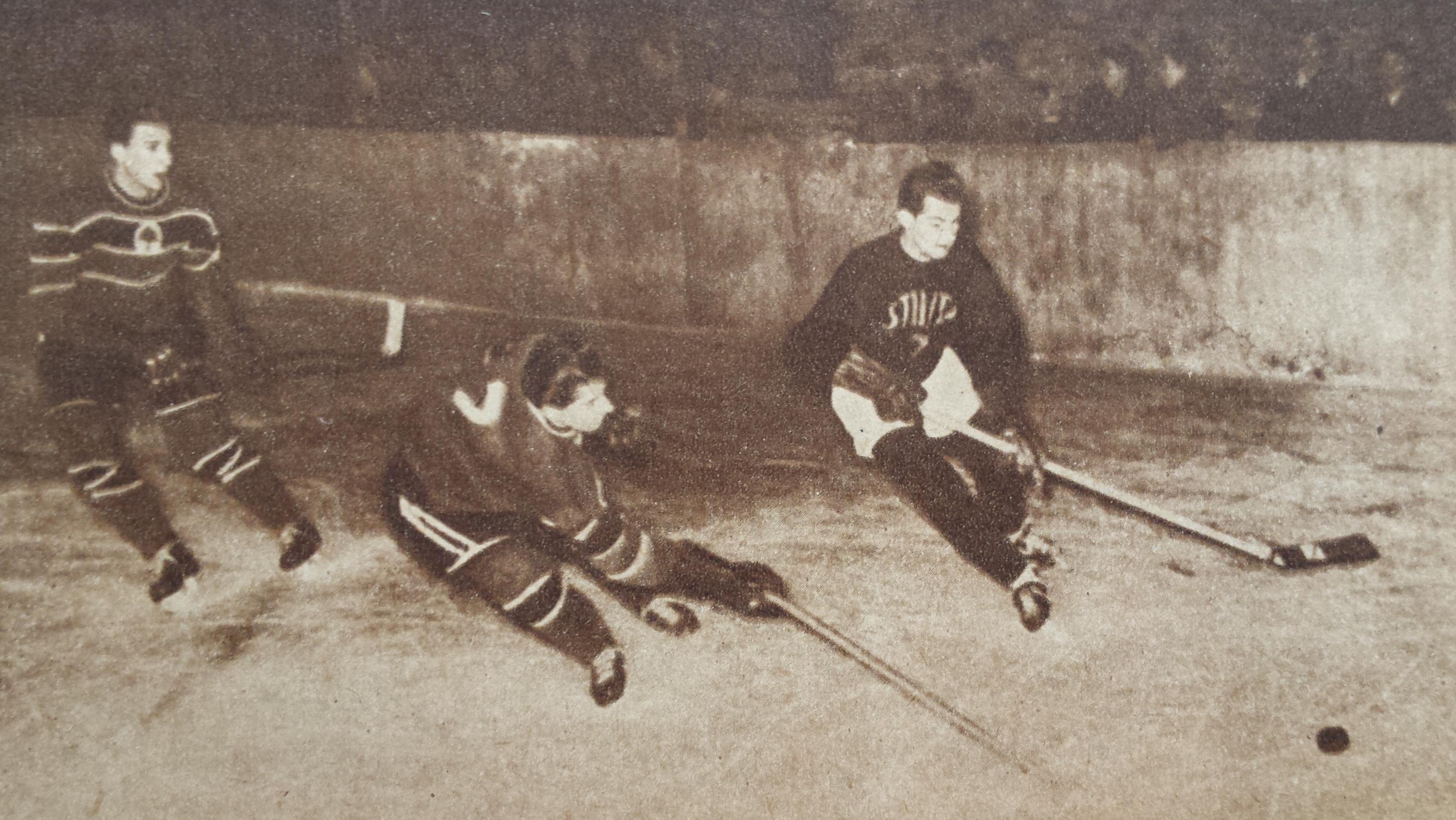 foto-3-faza-de-joc-hochei-stiinta-cluj-avantul-miercurea-ciucscor-0-3-anul-1956