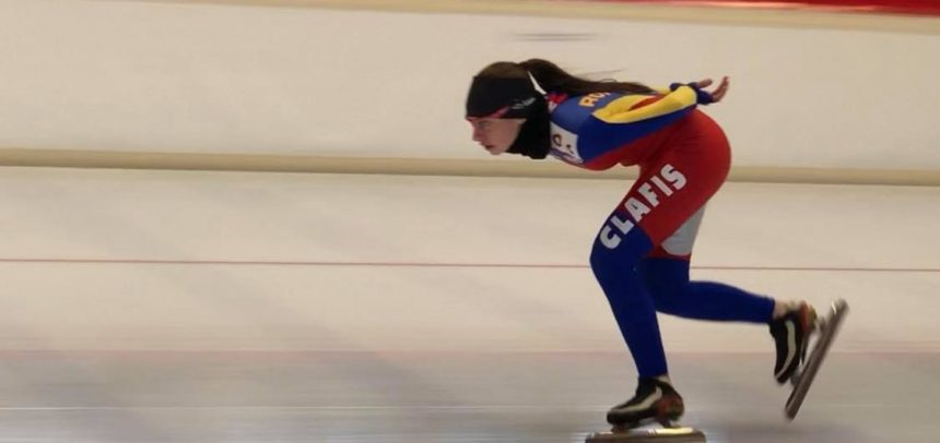 Ilka Fuzesy a patinat la Cupa Frillensee