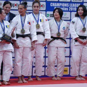 """CS """"U"""" Cluj, medalie de bronz în finala Ligii Campionilor la Judo"""