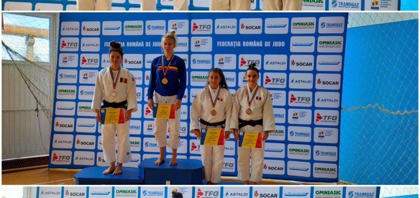 Judokanii au obținut cinci medalii la Deva