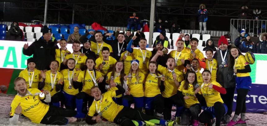 Ştefania Ghebu, bronz cu echipa naţională de rugby 7