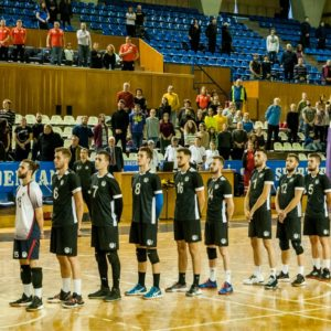 Echipa de volei masculin joacă la Timișoara