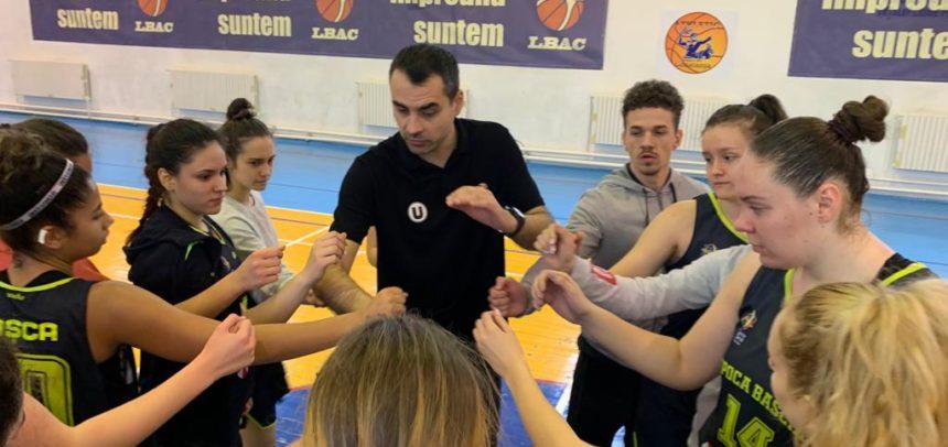 Echipa de baschet feminin U20, două meciuri din trei la Constanța