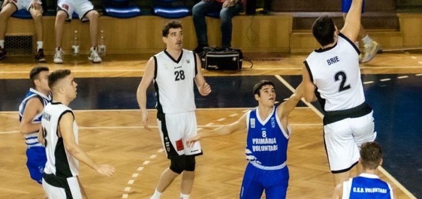 Meci pe teren propriu pentru baschetbaliștii universitari