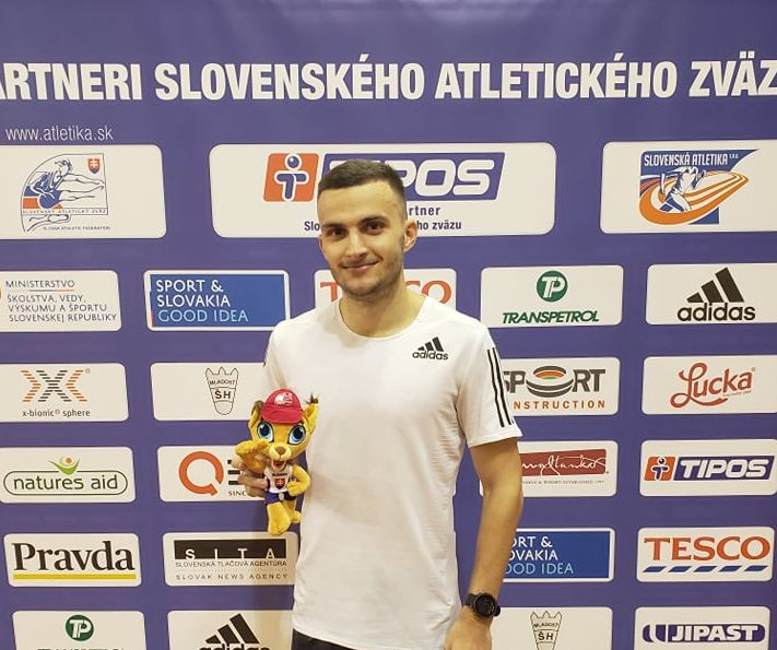 Cristian Tăut - locul 1 la 800 m - Elan Meeting Bratislava