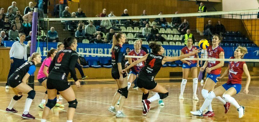 """""""U"""" NTT Data Cluj joacă acasă cu CSM Târgovişte"""