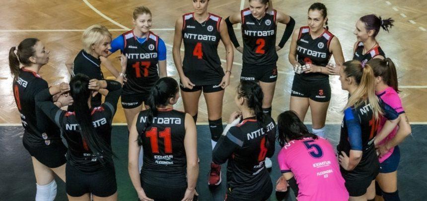 """Victorie pentru """"U"""" NTT DATA Cluj cu CS Medgidia"""