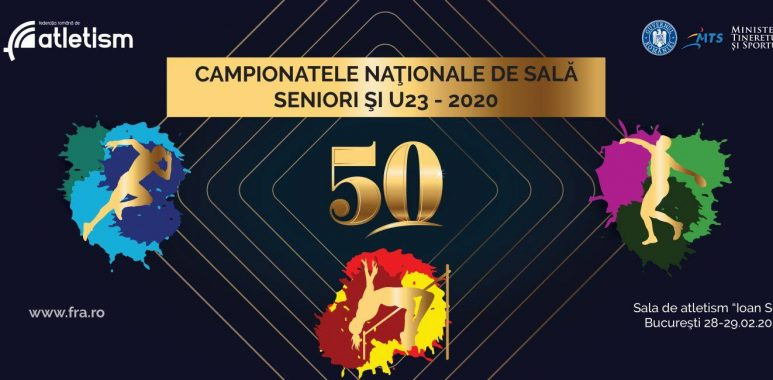 Atleții universitari participă la Campionatul Național de Sală