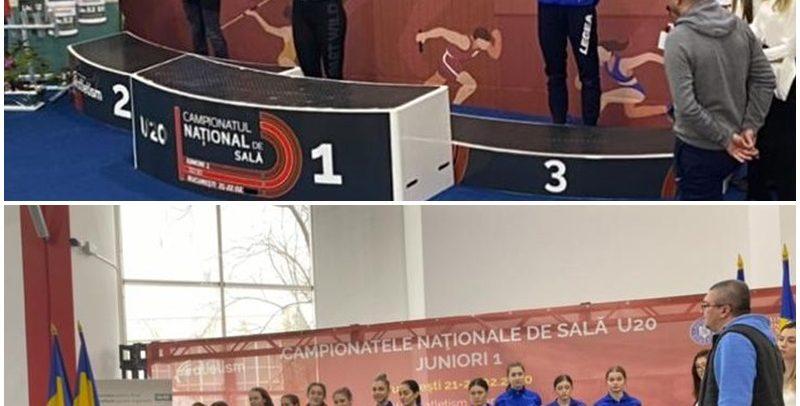 Două medalii de bronz la CN U20