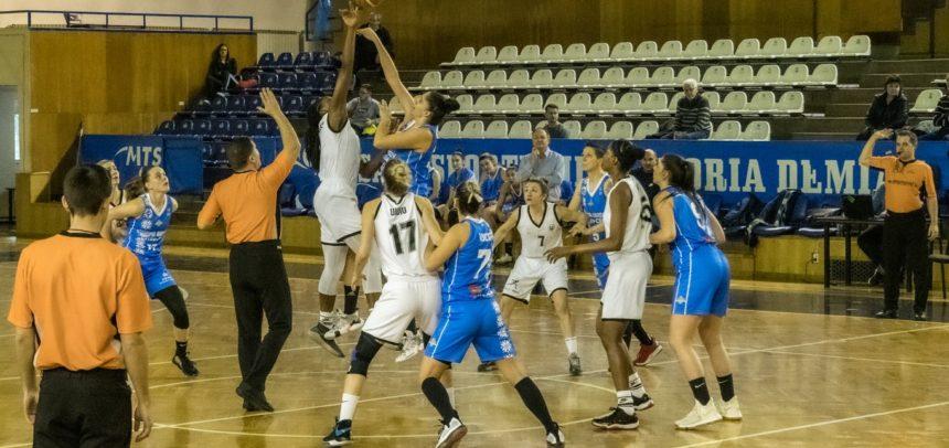 Deplasare la Braşov pentru baschetbaliste