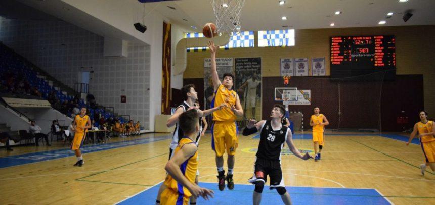 O victorie și o înfrângere pentru baschetbaliști