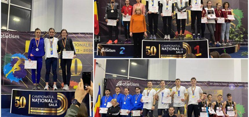 Atleții universitari au cucerit șapte medalii