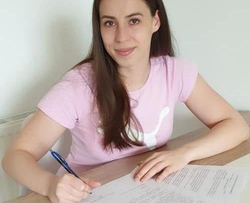 Denisa Șelever, primul transfer al echipei de handbal