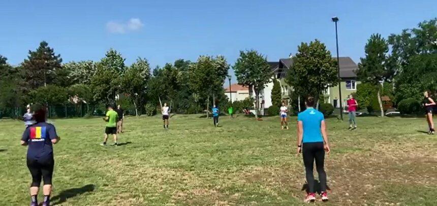 Handbalistele se antrenează pe Cetățuie