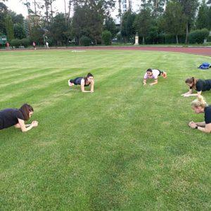 Echipa de rugby feminin s-a reunit