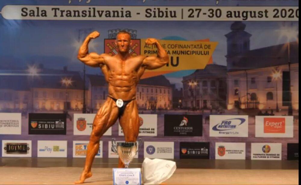 Radu Ulici - campion național absolut Sibiu