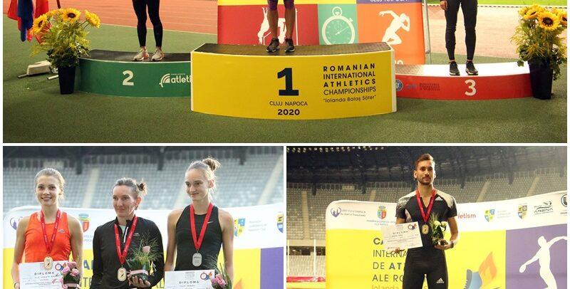 """Opt medalii pentru """"U"""" la Internaționalele României"""