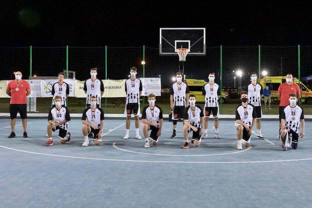 Echipa de baschet masculin U20, vicecampioană națională