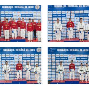 Judoka universitari – locul întâi pe echipe