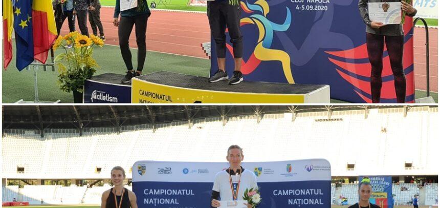 Opt medalii la Campionatele Naționale de Atletism