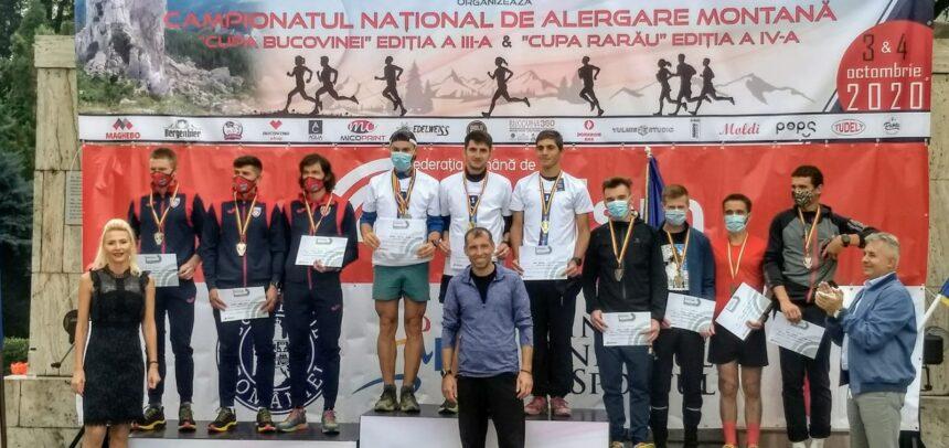 """""""U"""" Cluj – campioană națională la alergare montană"""