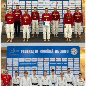 "Opt medalii pentru judokanii ""U""-CSM Cluj-Dinamo"