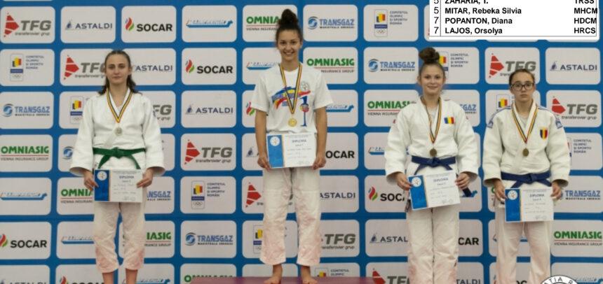 Trei medalii pentru judoka universitari