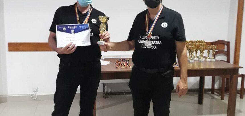 Faur și Caba, vicecampioni naționali