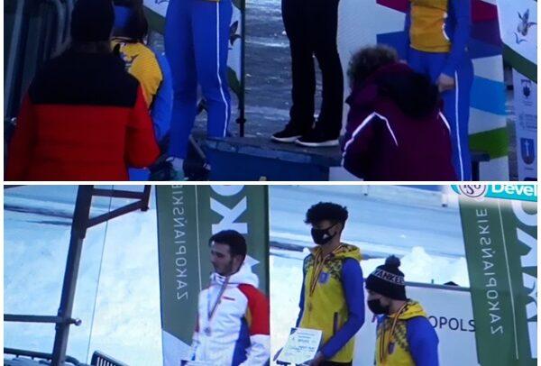 Nouă medalii la patinaj viteză