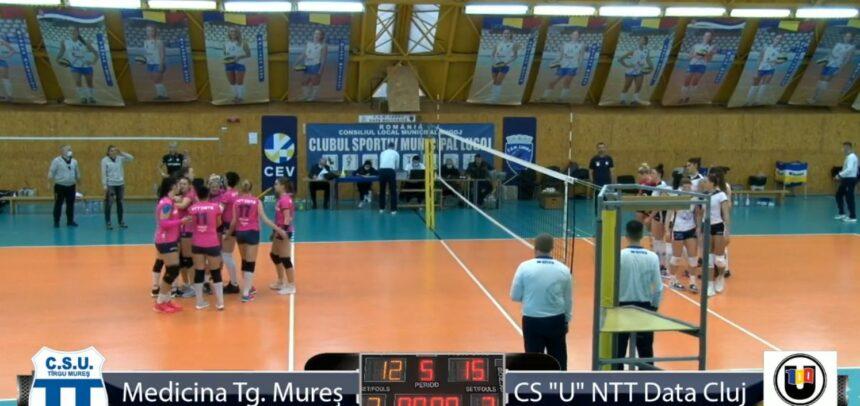 O victorie și două înfrângeri în turneul de la Lugoj