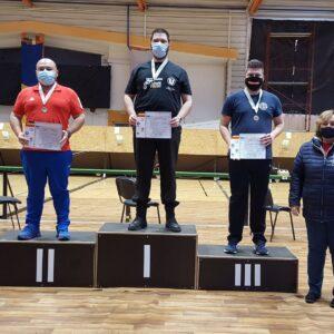 Medalie de aur la etapa de tir pentru Radu Vescan