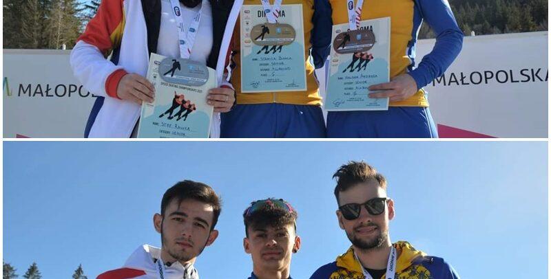 Patinatorii universitari au cucerit opt medalii