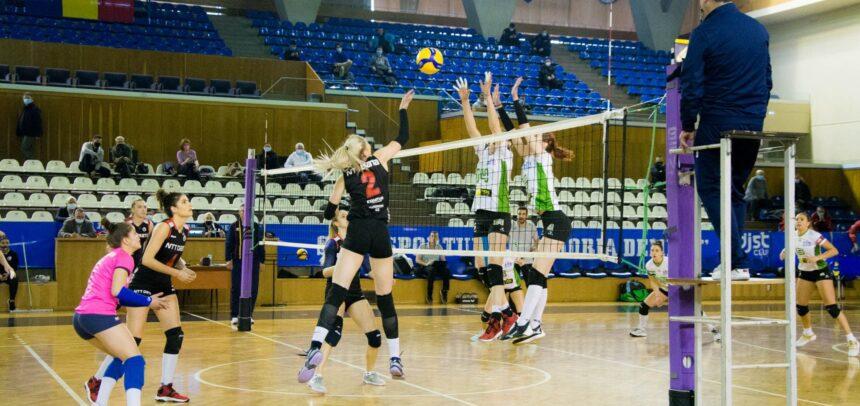 Voleibalistele joacă la Galați