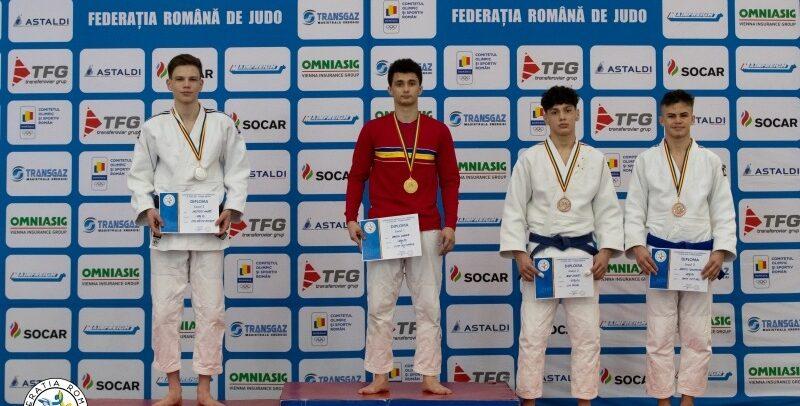 Din nou printre protagoniștii Campionatelor Naționale de judo U18