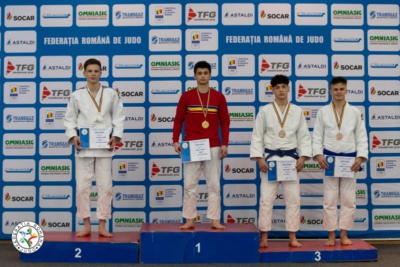 Oancea Claudiu - locul 1 categoria 60 kg