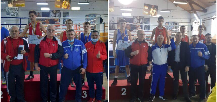 Trei medalii la Cupa României de box