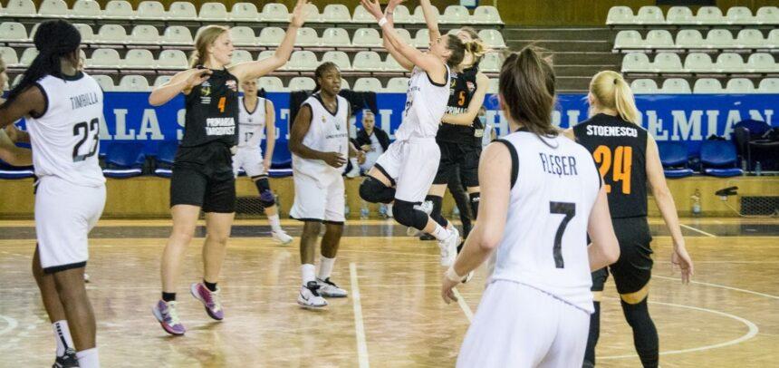 Baschetbalistele joacă două meciuri la Constanța