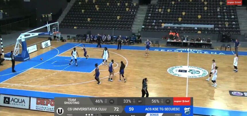 O victorie și o înfrângere pentru baschetbaliste