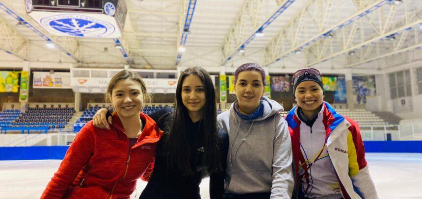 """Șase medalii pentru """"U"""" la """"Naționalele"""" de patinaj viteză"""
