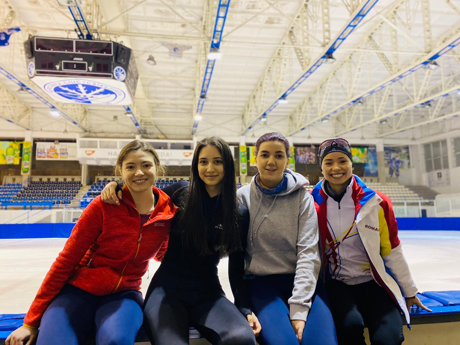 Alexia Neag, Andreea Moldovan, Iasmin Al-Sagban, Raluca Ștef