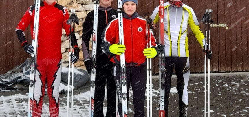 """Patru schiori de la """"U"""", la Campionatul Național"""