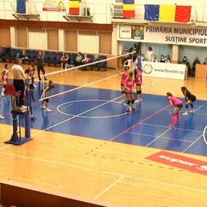 Voleibalistele joacă azi cu Belor Galați