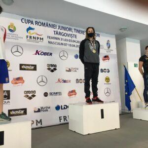 Cătălin Ungur a cucerit trei medalii la Cupa României